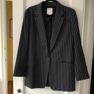 DKNY striped blazer